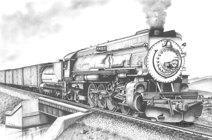 Rail Art by Shayne - Railroad Drawings